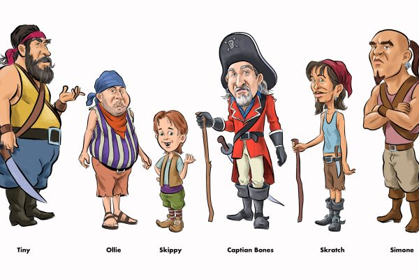 Pirates in color